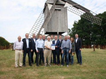 Landschaftsverband Weser-Hunte unterstützt Mühlenverein
