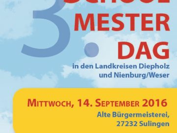 3. Schoolmesterdag in Sulingen