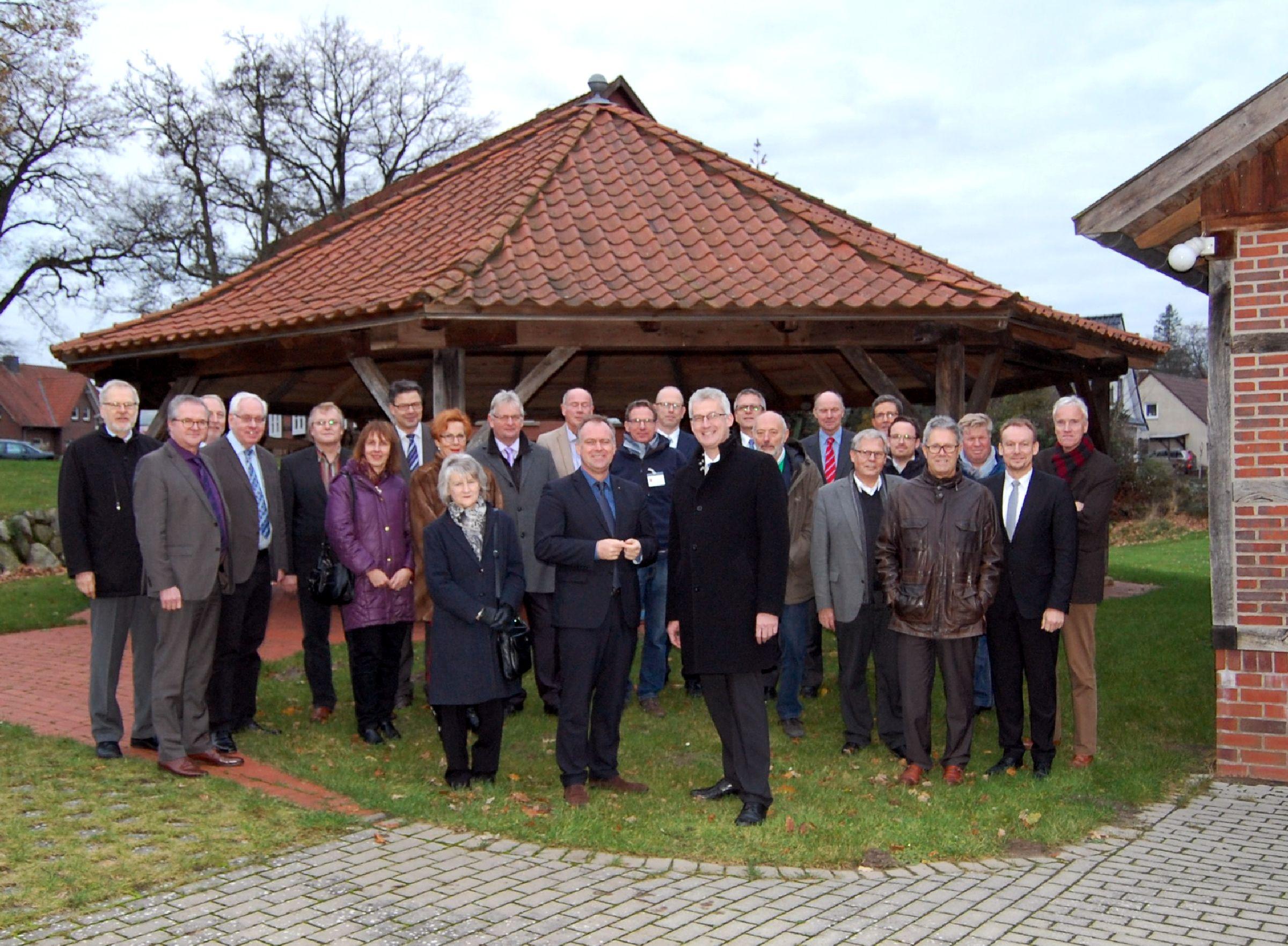 Die Mitgliederversammlung fand am 02.12.2015 im Heimat- und Kulturhaus Meyer-Köster in Barnstorf statt.