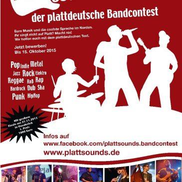 Plattsounds-Finale am 21.11. in Osnabrück