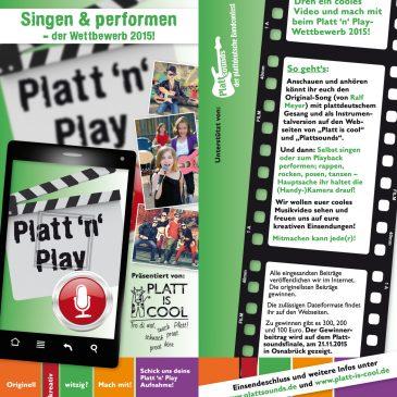 Platt'n' Play – ein Karaokewettbewerb