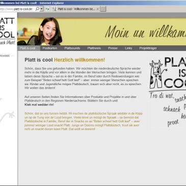 """Projekt """"Platt is cool"""""""