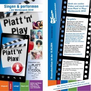 Flyer Platt n' Play 2014